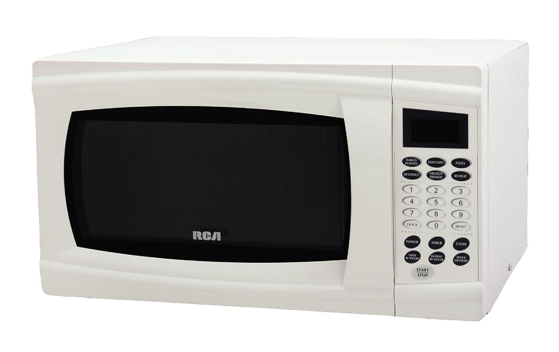 RCA RMW1112 1.1 Cubic Feet Microwave Oven, White Curtis International LTD RMW1112-White