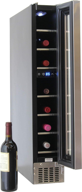 Equator-Deco 7 Bottles Thermoelectric Built-in//Freestanding Wine Cooler