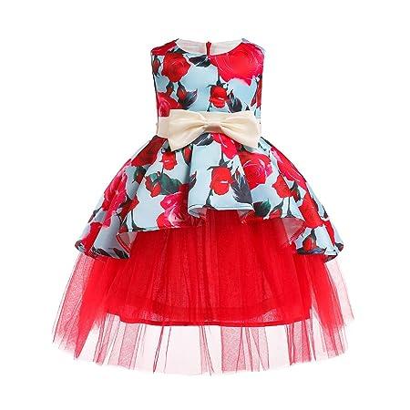 Peggy Gu Vestido de niña Vestido de niña de Flores Falda Niño Niño ...