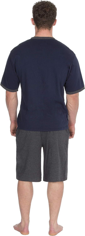 Insignia Hommes Set Pyjama Manche Courte Haut /& Short
