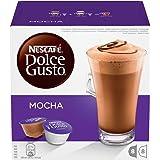 NESCAFÉ DOLCE GUSTO MOCHA Cioccolata al caffè 3 confezioni da 16 capsule (48 capsule)