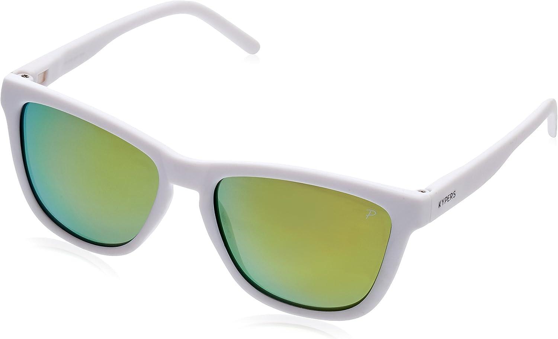 KYPERS Caipirinha Gafas de sol, Matte White - Orange Mirror, 54 Unisex: Amazon.es: Ropa y accesorios