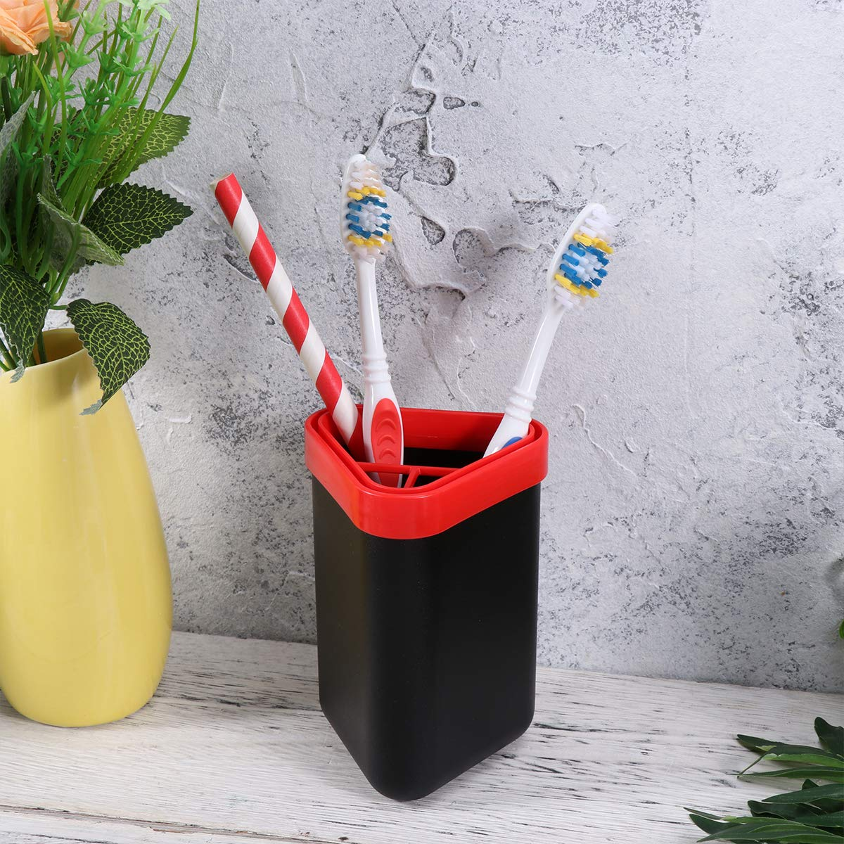 Travel Toothbrush Carrier And Case Portable Business Trips Wash Cup Holder For