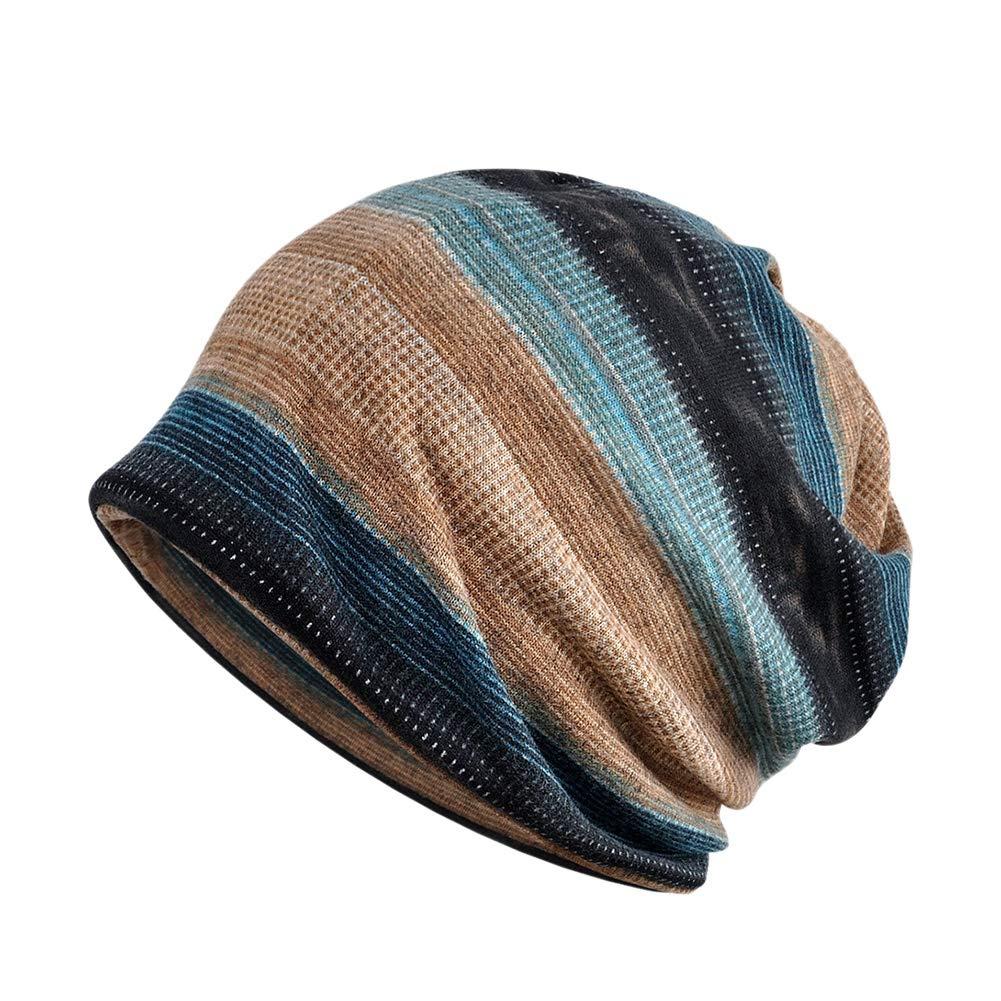 Aesy Slouch Beanie Cap Headwear Cappello per Primavera Estate Autunno  Invernali 03ca6328ba2f