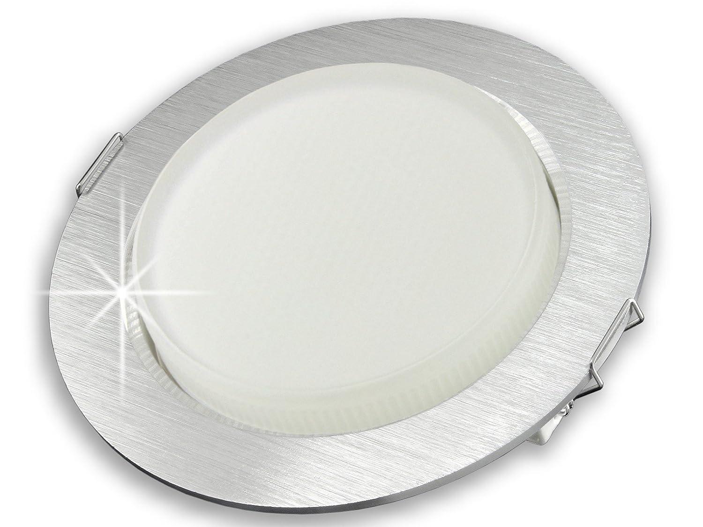 runde LED Einbau-Leuchte flach [LED Einbau-Strahler 230V] RX-3 Alu ...