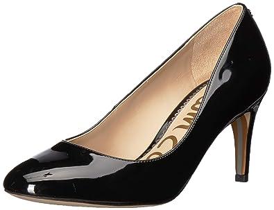15083038f Sam Edelman Women s Elise Pump Black Patent 5 ...