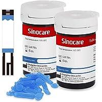 Sinocare Diabetes Testing Kit/Blood Glucose Monitor Safe AQ Blood Glucose Sugar Test Kit with Codefree Strips x 50…