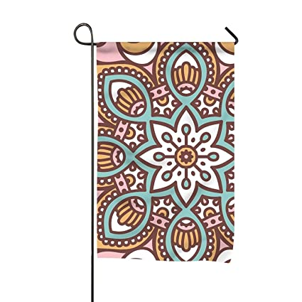 Amazon com : Mandala Home Flag Designer Garden Flag Unique Outdoor