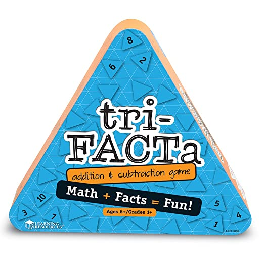 Amazon.com: tri-FACTa Addition and Subtraction Game: Toys & Games