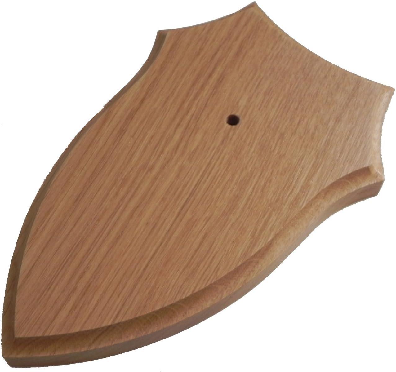 p/âle//clair Cornu conseil pour Le chevreuil 19x12cm rond avec Fraisage