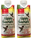 EZNectar One-Shot - EZNectar is the Only Ready-to-Use Hummingbird Nectar Exactly Like Flower Nectar. Patented, No Preservatives or Dyes, Hummingbird Food - Nectar (2 piece) 22 FL OZ TOTAL