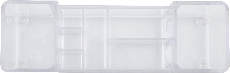 Clear 8.63 L x 6.5 W x 3.88 H Kenney Drawer Organizer Bin