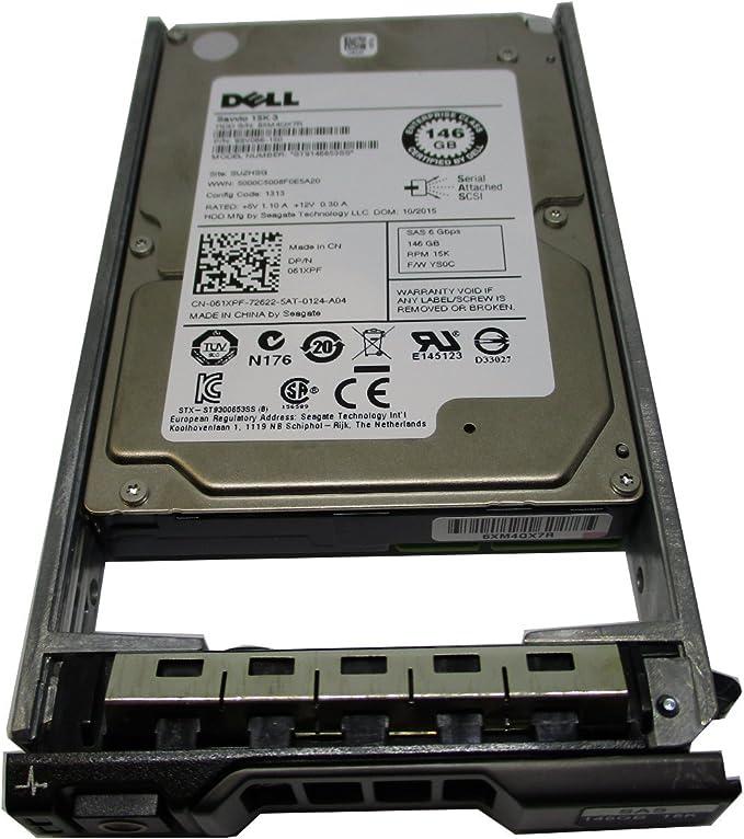 Dell 061XPF 146GB 15K SAS 2.5/'/' 6G ST9146853SS HDD Hard Drive 61XPF Tested