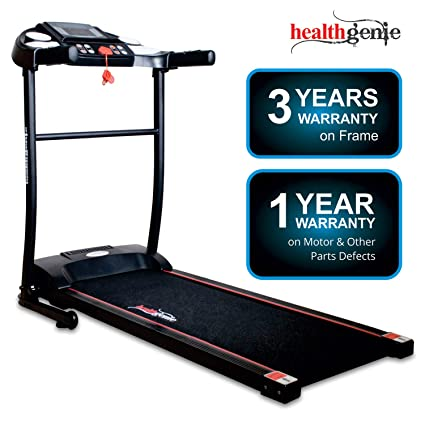 Healthgenie 3911M 2 5 HP Peak Motorized Treadmill for Home Use & Fitness  Enthusiast (Free Installation Assistance)