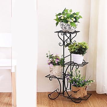 Estanteria para plantas ideas para decorar con macram - Estantes para macetas ...