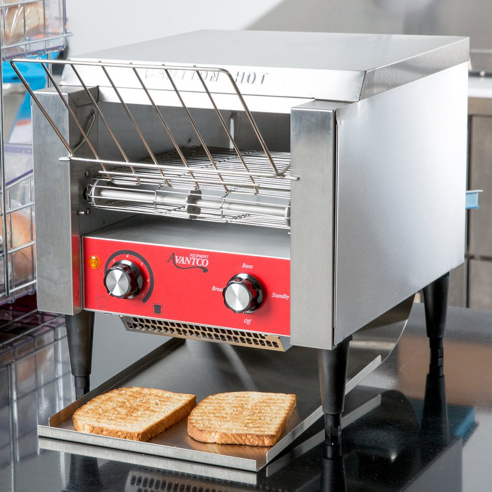 """Conveyor Toaster T140 Heavy Duty Stainless Steel 3"""" Opening 120V Commercial"""