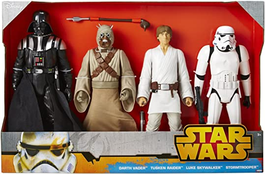 Star Wars 4 Classic Figuras Pack Set 45 cm (18 inch) - A New Hope ...