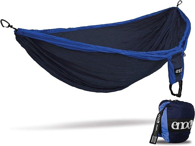 environ 181.44 kg Nouveau Eno Doublenest Hamac gris anthracite 400 LB capacité Parachute Nylon msrp$ 65