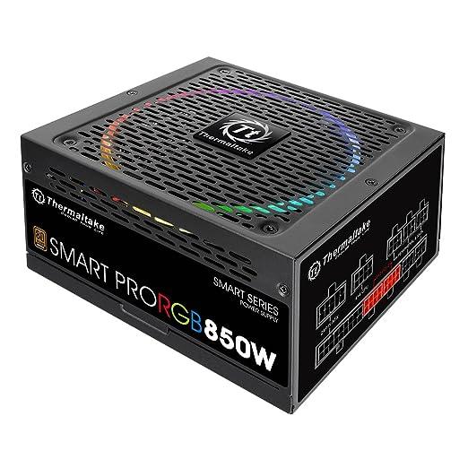 6 opinioni per Thermaltake Smart Pro RGB Alimentatore da 850 W, Modular 80+ Bronze, Nero
