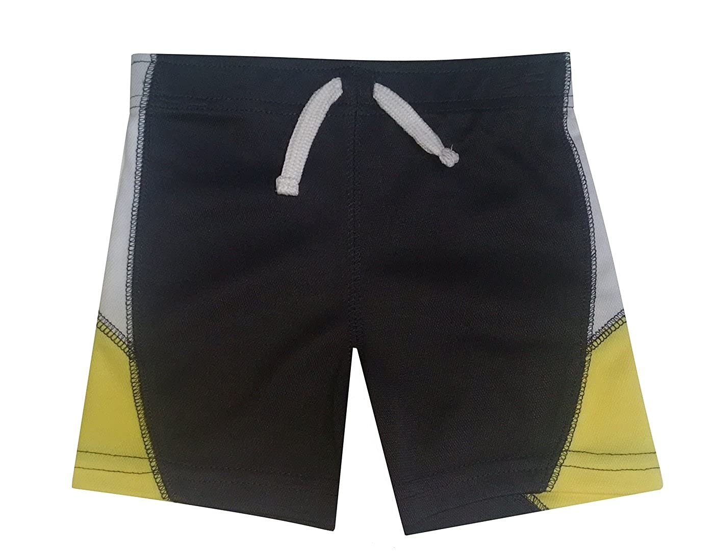 Cuddle Bear Baby Boys Active Shorts Gray//Yellow//White Size - 18 Months