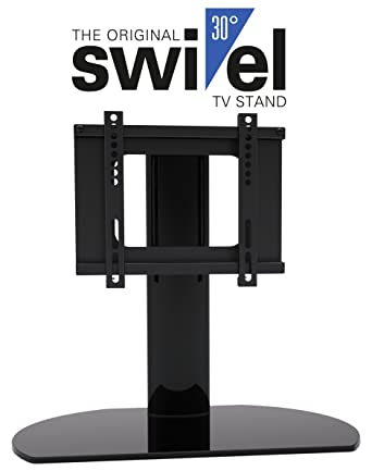 HTA2037 Universal Replacement TV Stand Base With Swivel Feature Fits Most 20quot 37quot