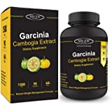 Sinew Nutrition Garcinia Cambogia Extract - (90 count) 1500 mg, 100 % Veg, Pure & Natural Weight Management & Appetite Suppressant Supplement