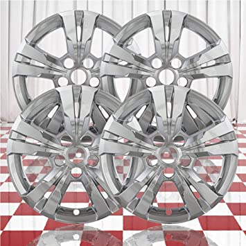 """CENTER CAPS INCLUDED 2015 CHEVY EQUINOX 17/"""" CHROME WHEEL SKINS LINERS 2"""