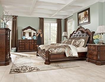 Perfect Ashley Ledelle Panel Bedroom Set   5 Pc. (Cal King)