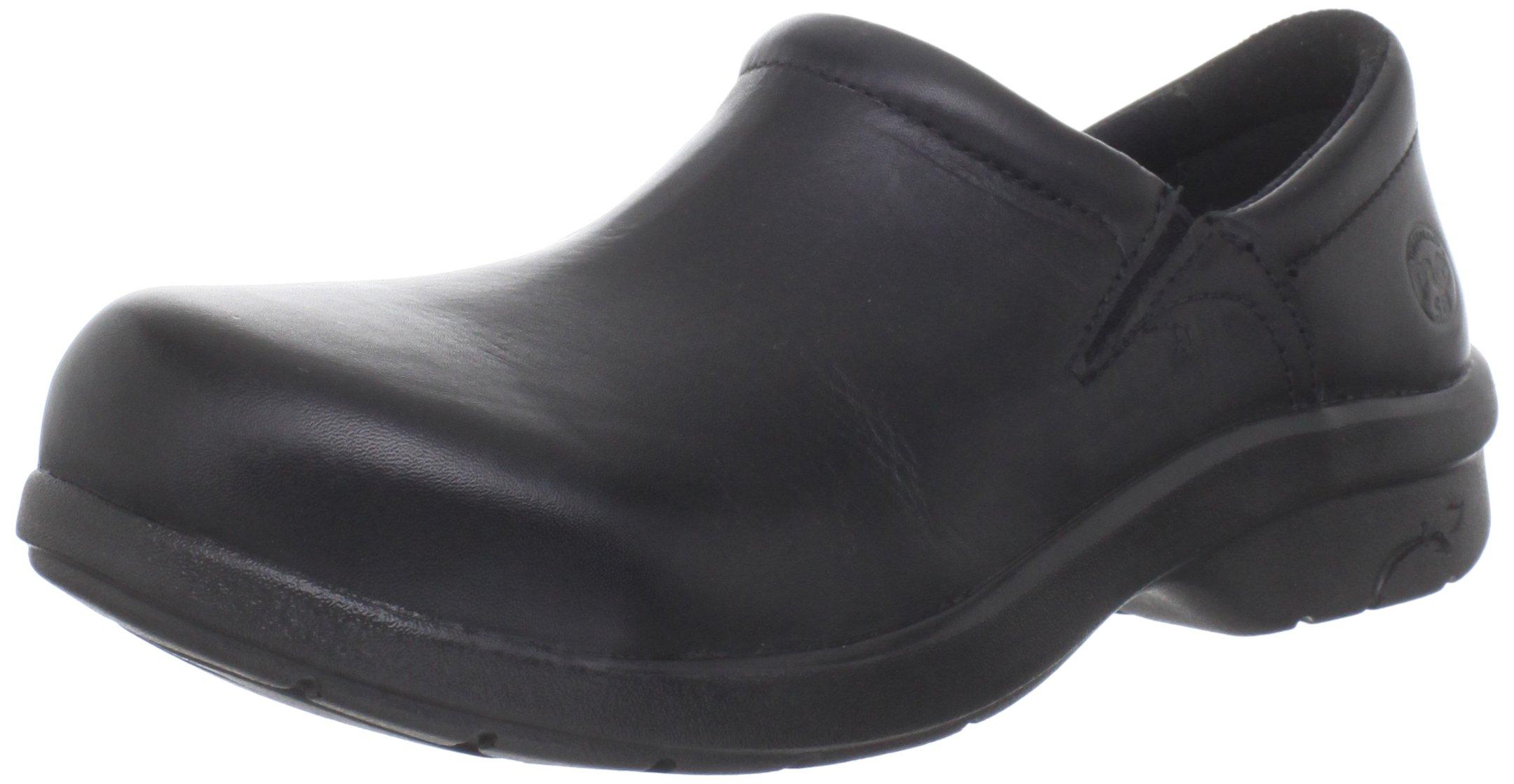 Timberland PRO Women's Newbury ESD Slip-On,Black,5.5 M US