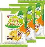 マンナンライフ 蒟蒻畑ララクラッシュオレンジ味 24g×8個×3袋