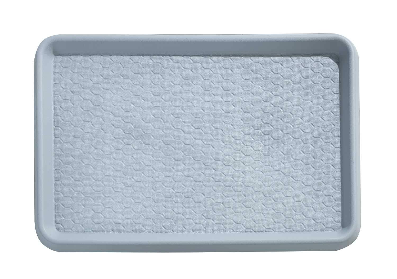 Schuhabtropfschalen Schuhablage Wanne 40 x 60 cm Kunststoff Grau