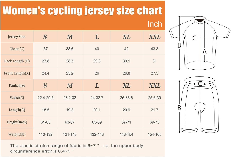 Cycling Jersey Short Sleeve Women MTB Bike Clothing Road Bicycle Shirts Shorts Padded Pants