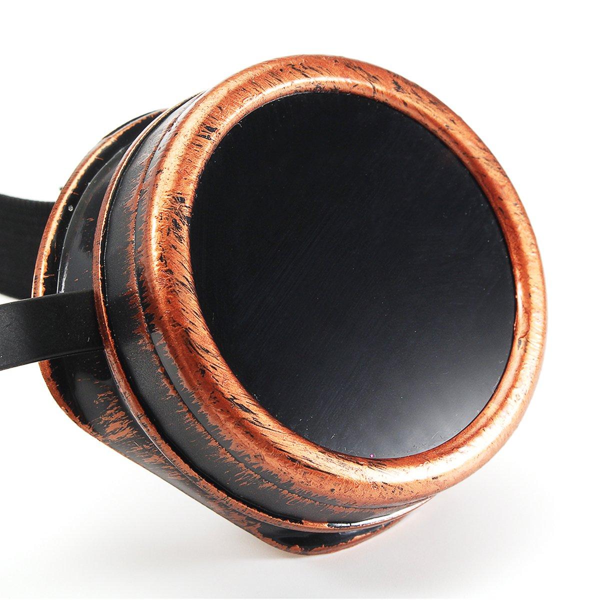 TENGGO Color Eclipse Solar Gafas Gafas Electric Soldadura Gafas De Sol A Prueba De Viento Montar Gafas-Moho: Amazon.es: Hogar