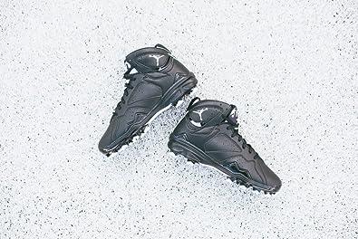 buy popular 9eaef 6e647 ... Nike Jordan Men s Air Jordan 7 Retro Mcs Black White Baseball Cleat ...  JORDAN - Sneakers ...