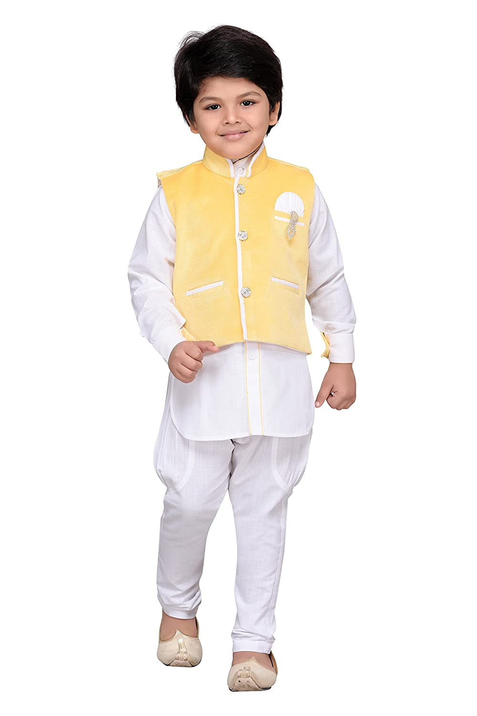 f1d5d5a1dd AJ Dezines Kids Indian Wear Bollywood Style Kurta Pyjama Waistcoat ...
