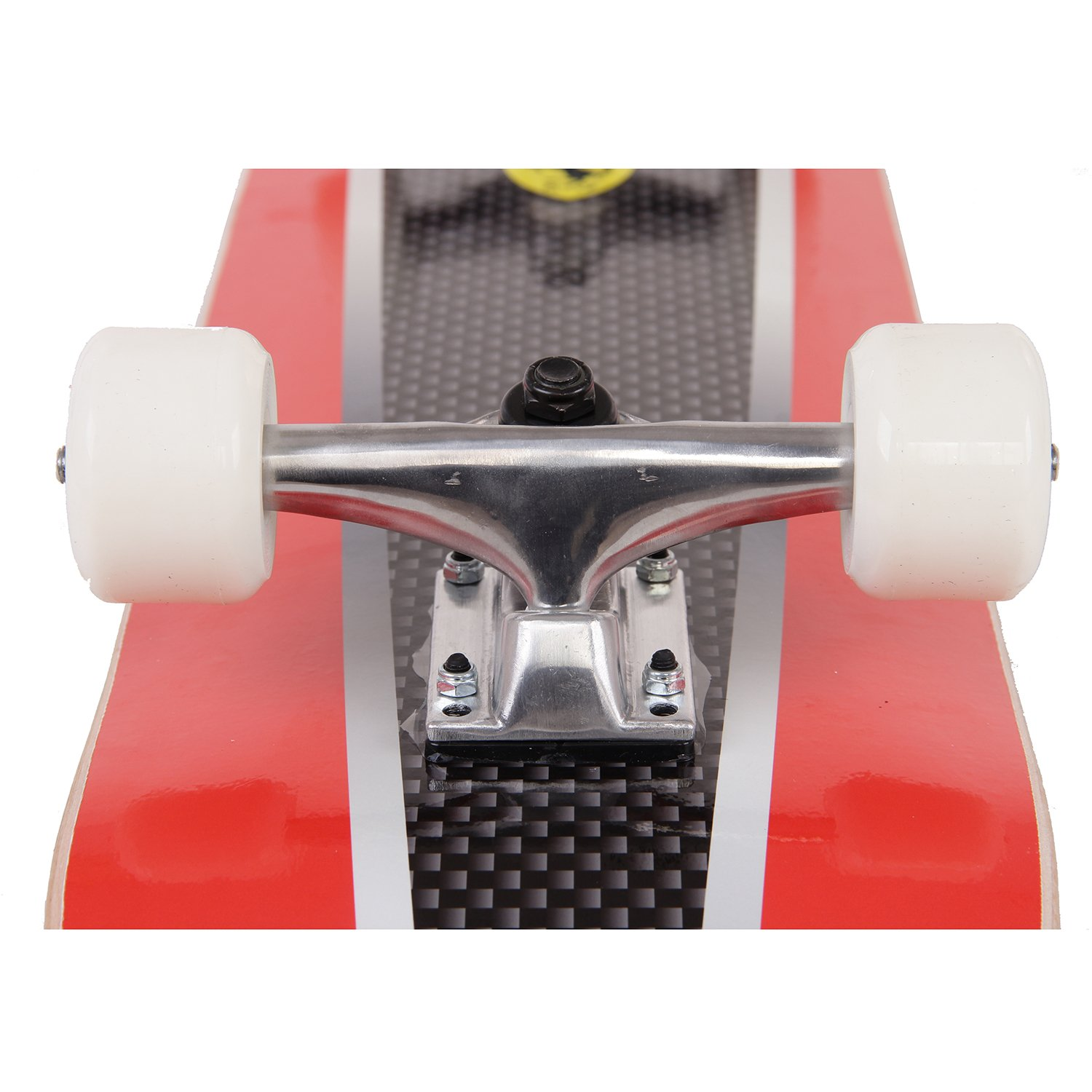Amazon.com : Ferrari Double Kick Skateboard, Medium, Red : Sports & Outdoors