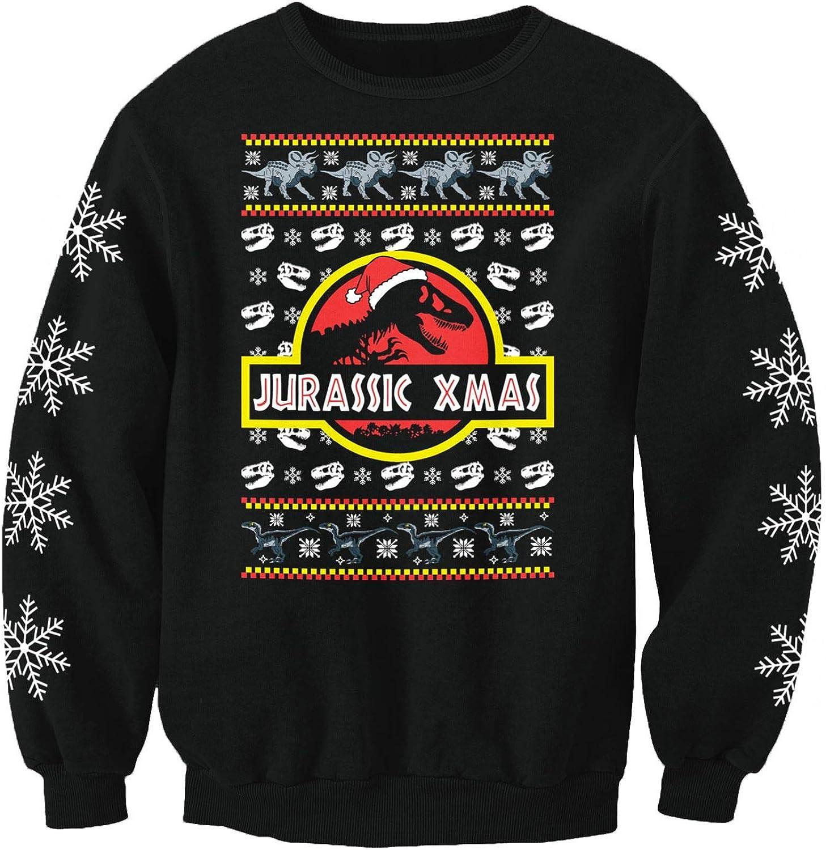 Nostalgic Jurassic Park Kinder Sweatshirt mit Weihnachtsmotiv Christmas Jumpers