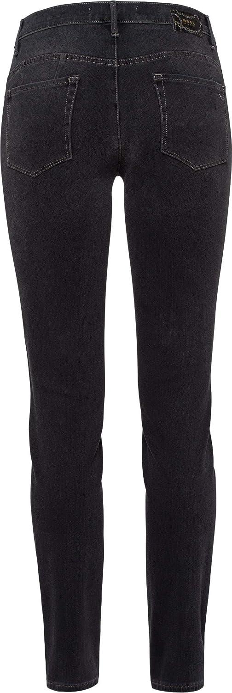 BRAX Dames Style Spice Broek Casual Sportiv Skinny Jeans grijs (Used Grey 05)