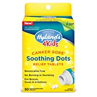 Canker Sore Treatment for Kids by Hyland's 4Kids, Natural Pain Relief of Mouth Ulcer...
