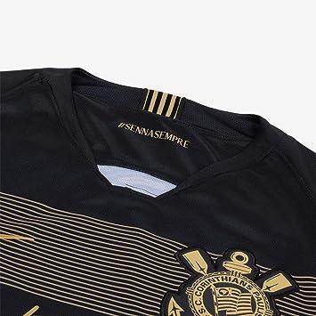 780b1874f6 Camisa Nike Corinthians III 2018/19 Torcedor Ayrton Senna: Amazon.com.br:  Esportes e Aventura