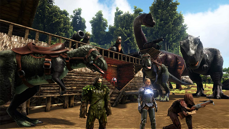 Amazon com: ARK: Survival Evolved - Explorer's Edition PS4