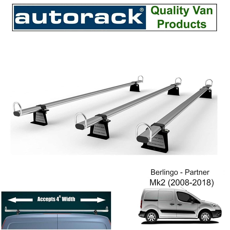 Wagon Porte-automobiles Workready van Barres de toit pour/ / /Citro/ën Berlingo 2009-to-new Mod/èle Port/ée /3/barres