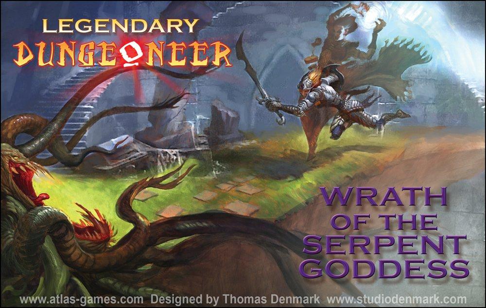 Fantasy Legendary Dungeoneer Wrath of the Serpent Goddess Atlas Games ATG01248 Science Fiction /& Fantasy