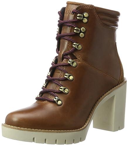 Tommy Hilfiger Women's P1285aola 5a Combat Boots, Brown (Winter Cognac),  3.5 UK