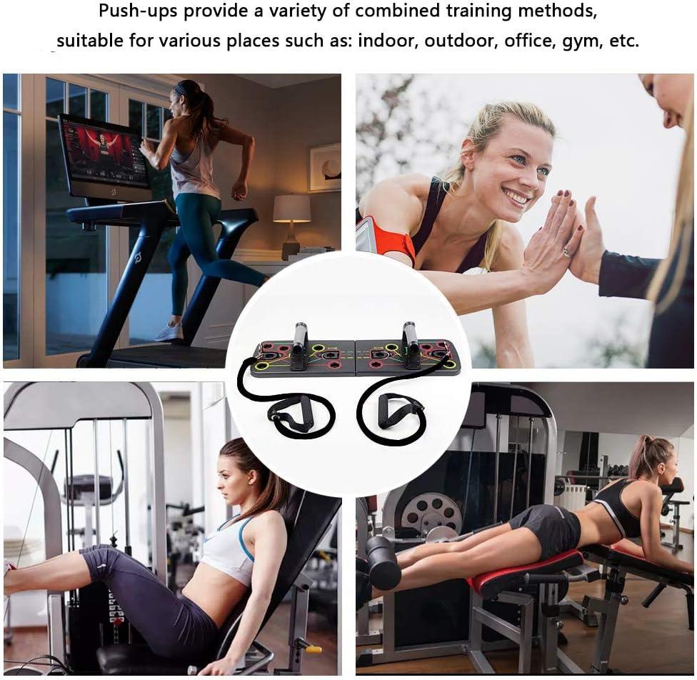 Tabla de Flexiones Ancocs Tabla de entrenamiento 13 en 1 para ...