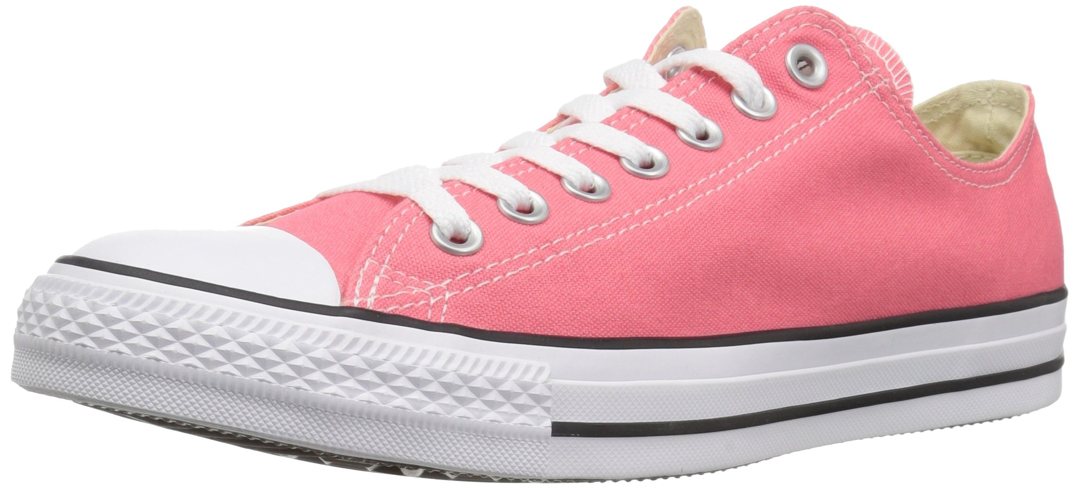 Converse Chuck Taylor All Star 2018 Seasonal Low Top Sneaker, Punch Coral, 8 M US