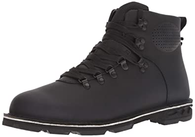 4447f343dea Merrell Men's Sugarbush Braden MID Leather Waterproof Fashion Boot Black 7  ...