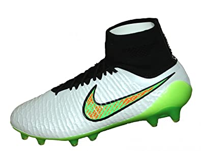 premium selection a2002 4d043 Nike Magista Obra FG Mens Football Boots, WHITE WOLF GREY (WOLF GREY