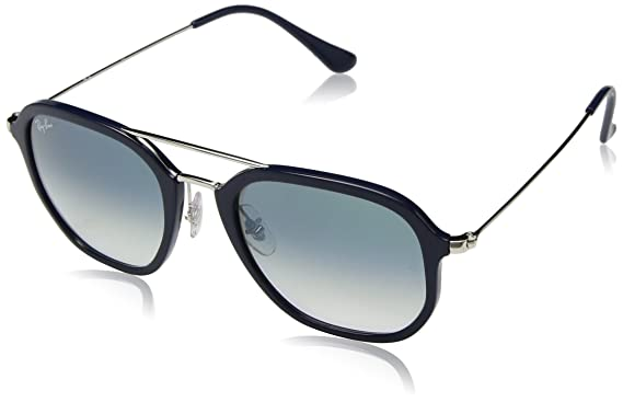 Ray-Ban 0RB4273 Gafas de sol, Rectangulares, 52, Blue