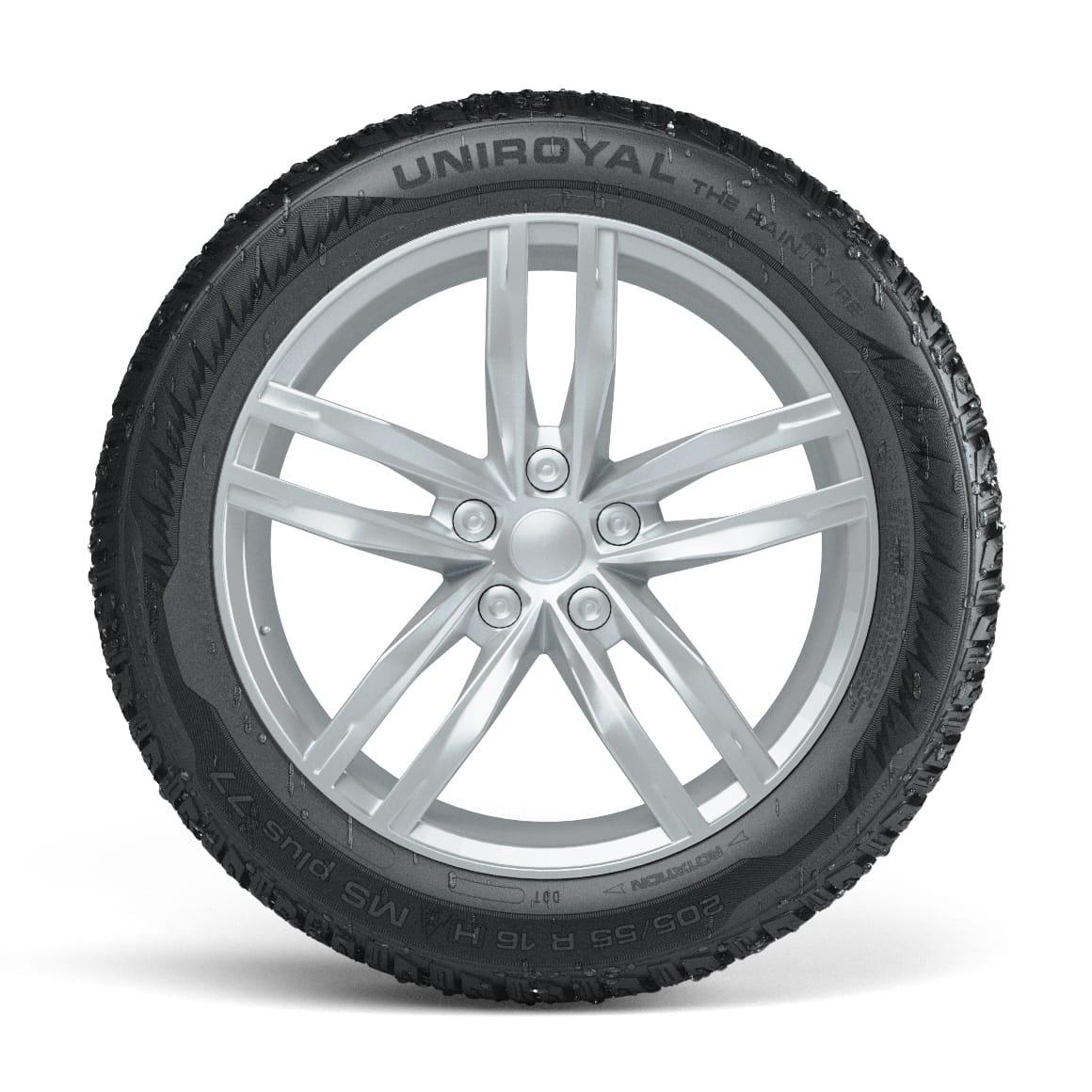 Winter Tyre E//C//71 Uniroyal MS plus 77-225//55 R16 99H Passenger Car /& SUV